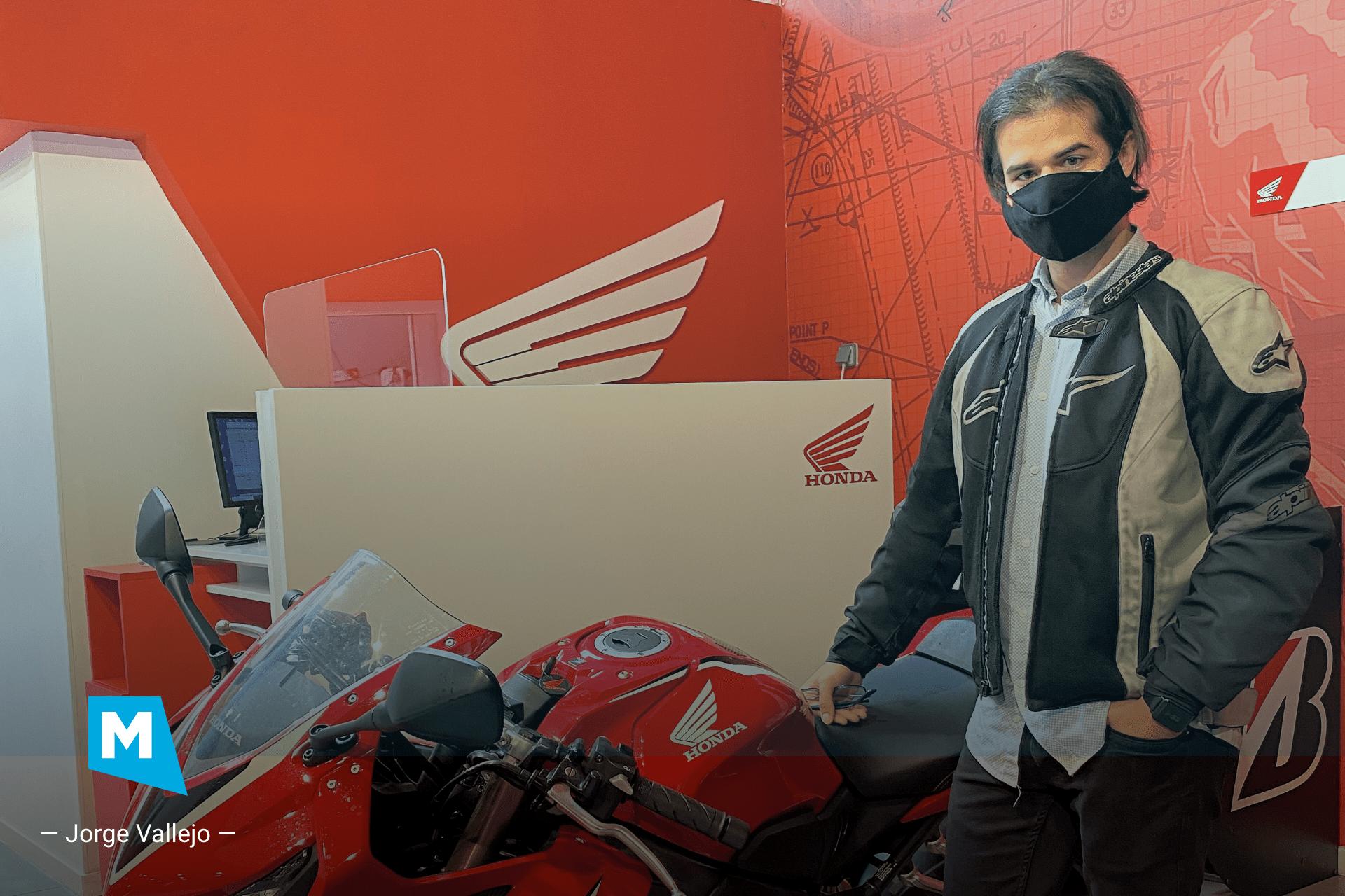 Jorge Vallejo: «Ya no imagino una moto sin Mapit»