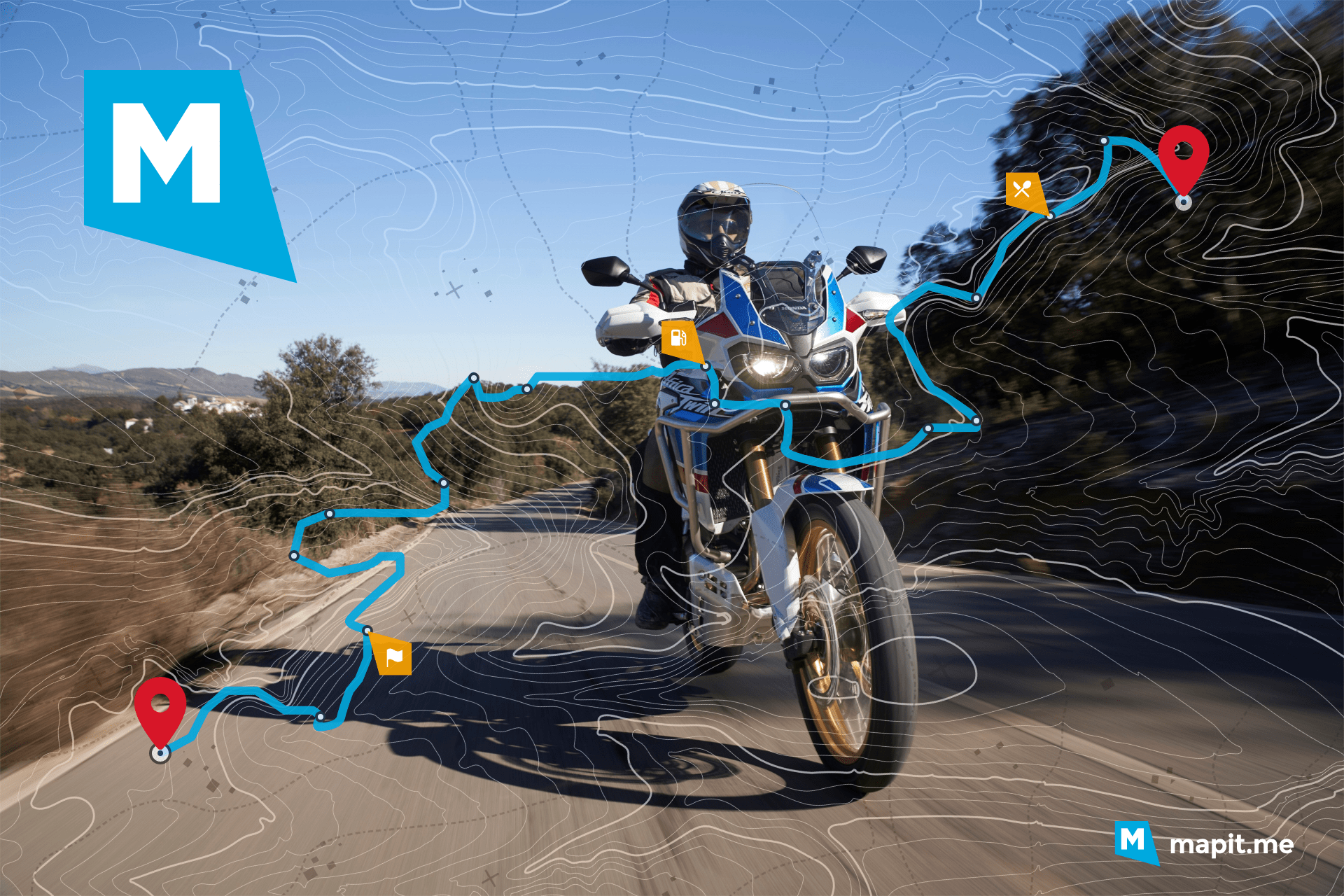 Mejores rutas en moto de España: Barcelona, Madrid y Málaga